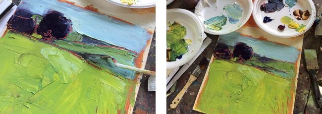 Paysage en Polymère - Melanie Matthews
